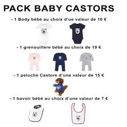 Pack Baby Castors