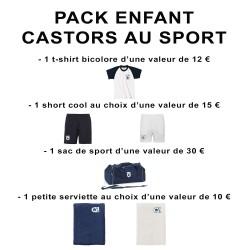 Pack enfant Castors au sport
