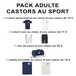 Pack adulte Castors au sport