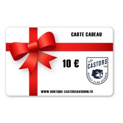 Carte Cadeaux 10 Euro