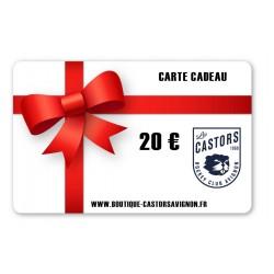 Carte Cadeaux 20 Euro